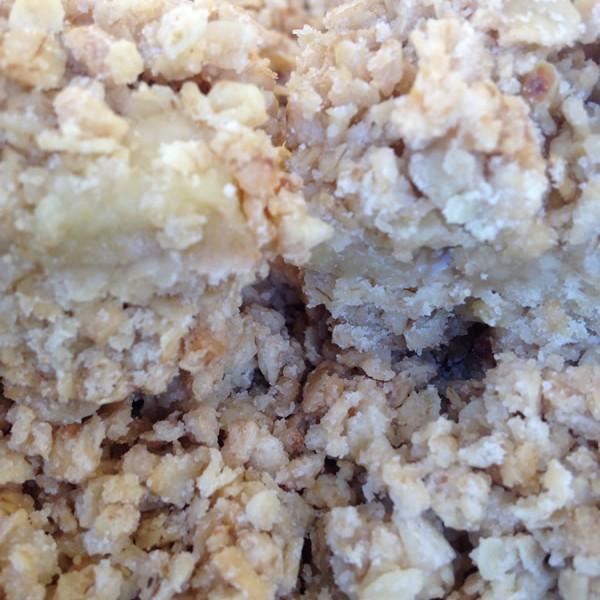 Spiced Apple & Raisin Crumble